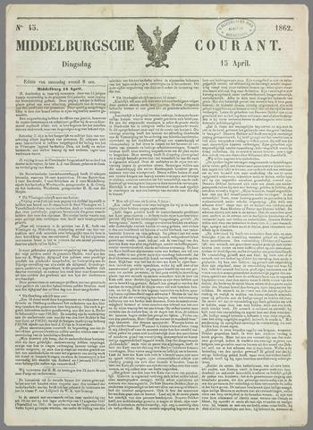 Middelburgsche Courant 1862-04-15