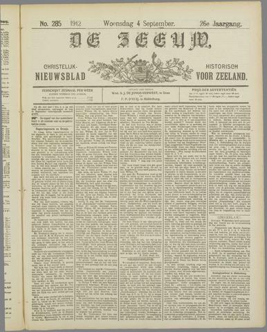 De Zeeuw. Christelijk-historisch nieuwsblad voor Zeeland 1912-09-04