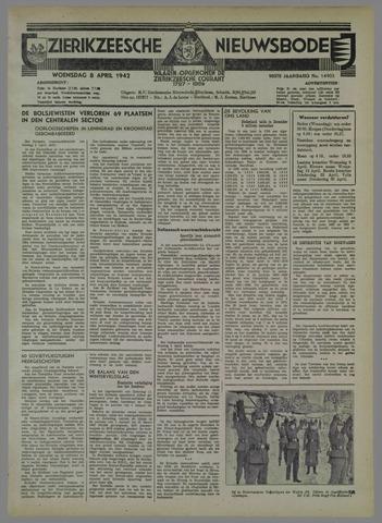 Zierikzeesche Nieuwsbode 1942-04-08