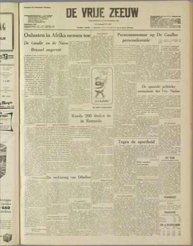 de Vrije Zeeuw 1959-11-12
