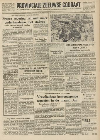 Provinciale Zeeuwse Courant 1953-08-18
