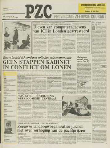Provinciale Zeeuwse Courant 1977-01-13