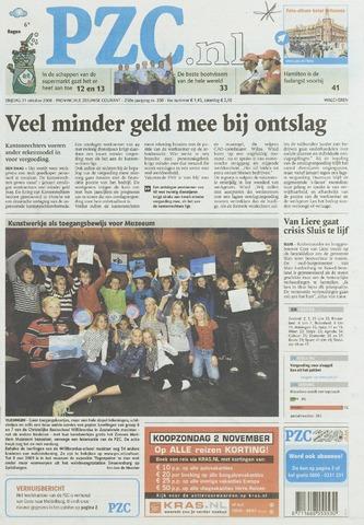 Provinciale Zeeuwse Courant 2008-10-31