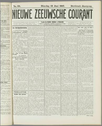 Nieuwe Zeeuwsche Courant 1917-06-12
