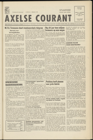 Axelsche Courant 1970-02-07