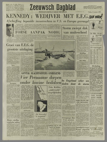 Zeeuwsch Dagblad 1962-01-12