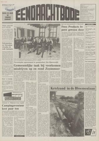 Eendrachtbode (1945-heden)/Mededeelingenblad voor het eiland Tholen (1944/45) 1989-10-19