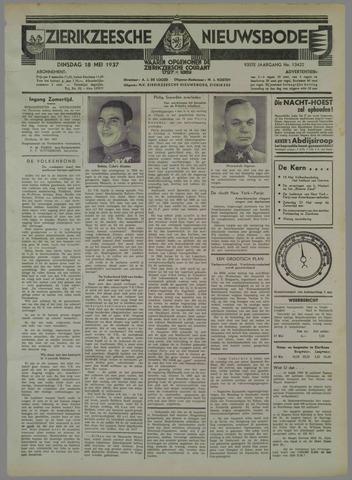 Zierikzeesche Nieuwsbode 1937-05-18