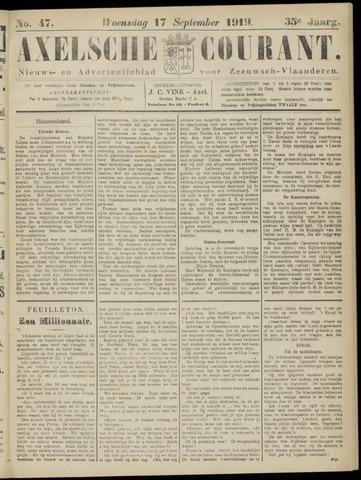 Axelsche Courant 1919-09-17