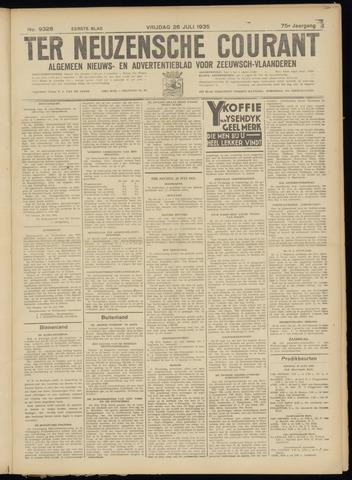 Ter Neuzensche Courant. Algemeen Nieuws- en Advertentieblad voor Zeeuwsch-Vlaanderen / Neuzensche Courant ... (idem) / (Algemeen) nieuws en advertentieblad voor Zeeuwsch-Vlaanderen 1935-07-26