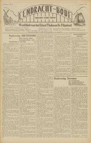 Eendrachtbode (1945-heden)/Mededeelingenblad voor het eiland Tholen (1944/45) 1949-01-07