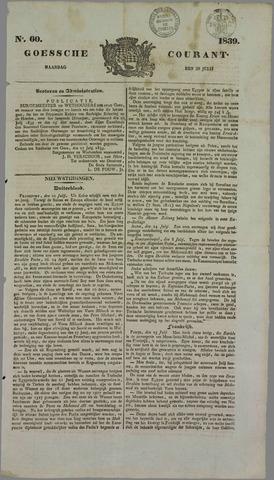 Goessche Courant 1839-07-29