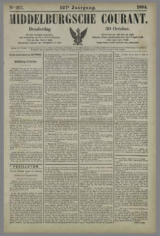 Middelburgsche Courant 1884-10-30