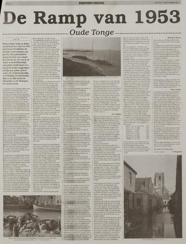 Watersnood documentatie 1953 - kranten 2002-09-13