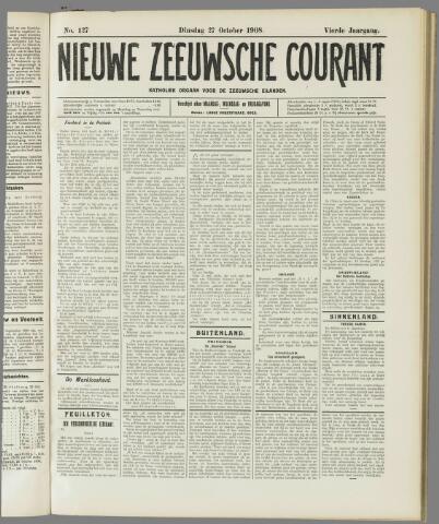 Nieuwe Zeeuwsche Courant 1908-10-27