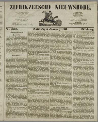 Zierikzeesche Nieuwsbode 1867-01-05