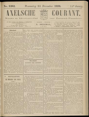 Axelsche Courant 1898-12-14