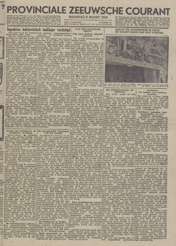 Provinciale Zeeuwse Courant 1943-03-08