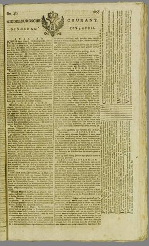 Middelburgsche Courant 1806-04-01