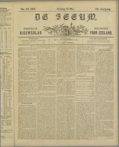 De Zeeuw. Christelijk-historisch nieuwsblad voor Zeeland 1901-05-10