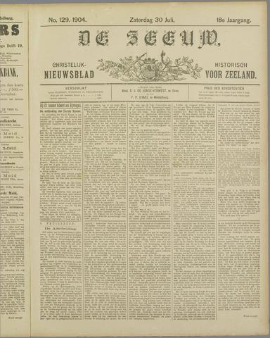 De Zeeuw. Christelijk-historisch nieuwsblad voor Zeeland 1904-07-30
