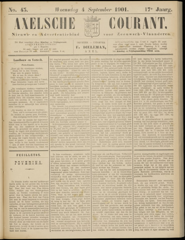 Axelsche Courant 1901-09-04