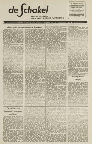 De Schakel 1958-08-22
