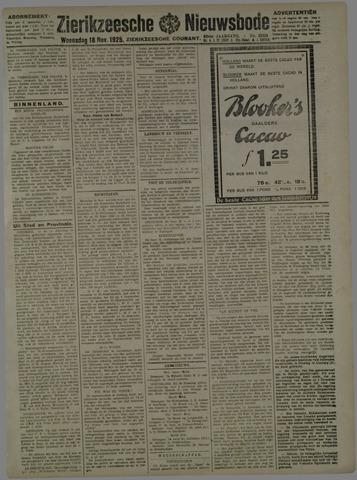 Zierikzeesche Nieuwsbode 1925-11-18