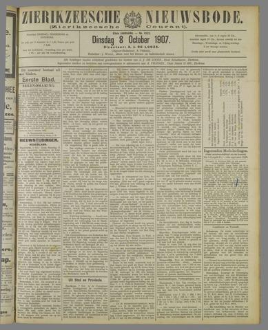 Zierikzeesche Nieuwsbode 1907-10-08