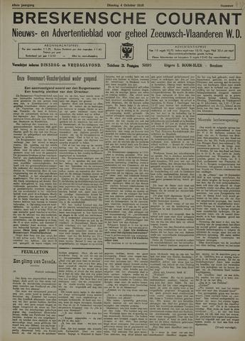 Breskensche Courant 1938-10-04