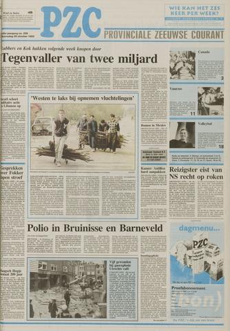 Provinciale Zeeuwse Courant 1992-10-28