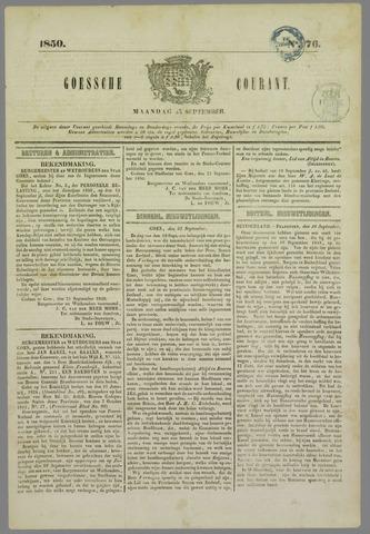Goessche Courant 1850-09-23