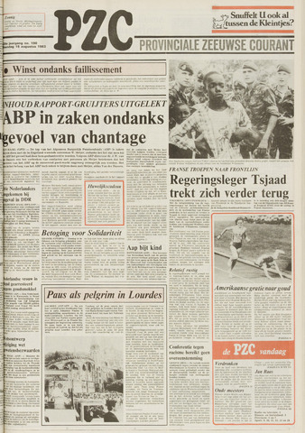 Provinciale Zeeuwse Courant 1983-08-15