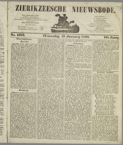 Zierikzeesche Nieuwsbode 1860-01-25