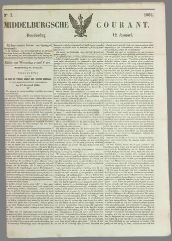 Middelburgsche Courant 1865-01-12