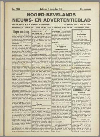 Noord-Bevelands Nieuws- en advertentieblad 1948-08-07