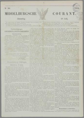 Middelburgsche Courant 1854-07-29