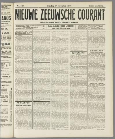 Nieuwe Zeeuwsche Courant 1907-12-17