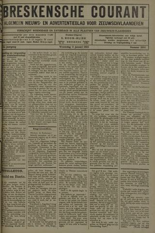 Breskensche Courant 1922-01-11