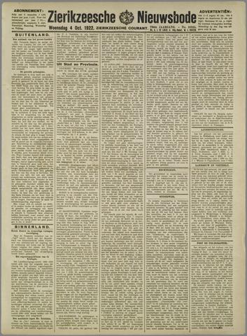 Zierikzeesche Nieuwsbode 1922-10-04