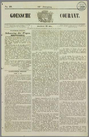Goessche Courant 1857-05-11