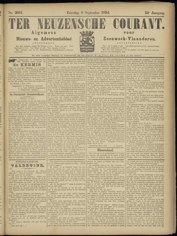 Ter Neuzensche Courant. Algemeen Nieuws- en Advertentieblad voor Zeeuwsch-Vlaanderen / Neuzensche Courant ... (idem) / (Algemeen) nieuws en advertentieblad voor Zeeuwsch-Vlaanderen 1894-09-08