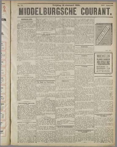 Middelburgsche Courant 1921-01-14