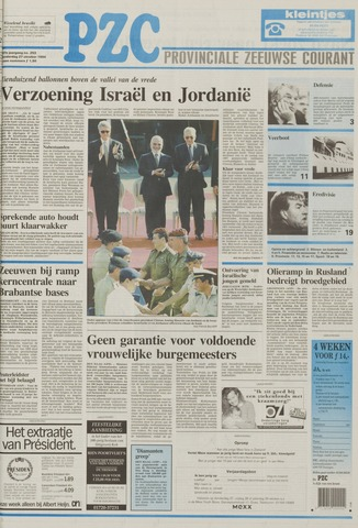 Provinciale Zeeuwse Courant 1994-10-27