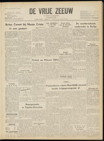 de Vrije Zeeuw 1954-01-11