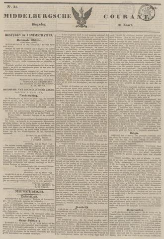 Middelburgsche Courant 1843-03-21
