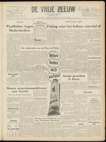 de Vrije Zeeuw 1952-12-16