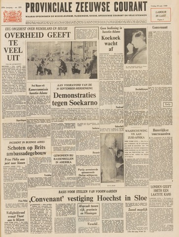 Provinciale Zeeuwse Courant 1966-09-30