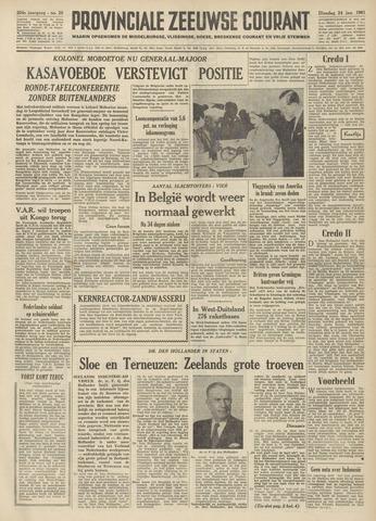 Provinciale Zeeuwse Courant 1961-01-24