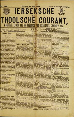 Ierseksche en Thoolsche Courant 1910-04-30